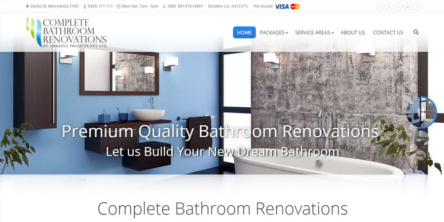 After-Complete Bathroom Renovations