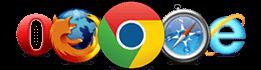 Browser Compatible Logos
