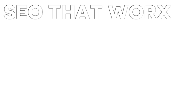 Seo That Worx Text Graphic